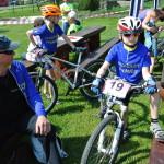 Jaryn, Jarda a Tom přeed závody