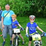 Naši bikeři s Jarynem