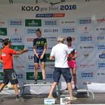 Ondra gratuluje Libuš k prvnímu místu