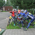 Závodníci před startem