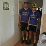 Jaryn s Libuš před odjezdem na R50