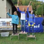 Libuš je bronzová ve Valašskokarpastké cyklotour, ikdyž odjela jen tři závody