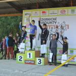 Nejrychlejší bikeři na trati 18 km a zlatý Tom