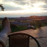 Michalova romantická dovolená s kozačkou - asi Itálie :-)