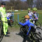 Mladí bikeři v Kvasicích