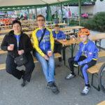 Renča, Dan, Tom a Jarda na kávičce