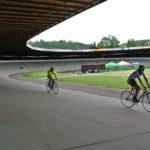 Po závodu MTB holky trénují na velodromu v Brně