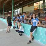 Reprezentanti Zlínského kraje s trenéry před závěrečnou disciplínou