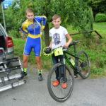 Libuš s Jardou v přípravě na start
