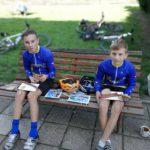 Ocenění turistů a malé občerstvení v cíli Jardu s Tomem potěšilo