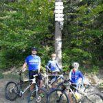 Naši bikeři U spáleného dubu