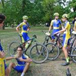 Libuš s bikery týmu 4E