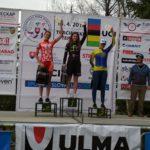 Tři nejrychlejší bikerky a naše bronzová Libuš