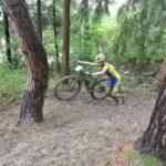 Biky se tlačí z kopce i do kopce