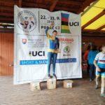 Libuš získává za první místo v XCE 100 bodů a zlato