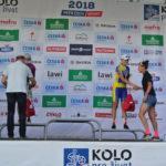 Na pódium přicházejí tři nejrychlejší ženy