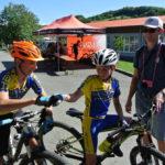 Dva nejrychlejší bikeři v Kašavě