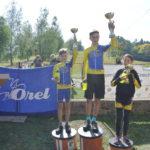 Jarda zlato, Tom stříbro - obrovský úspěch našich závodníků ve Valašskokarpatské cyklotour