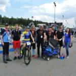 Libuš a týmové zabezpečení 4EVER CykloBulis před závodem