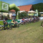 Jubiorky před startem závodu v Grazu