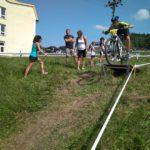 Jarda najíždí na skokánek v prvním kole