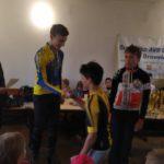 Závod na Ploštině vyhrál Ondra, Jarda druhý, Vítek třetí