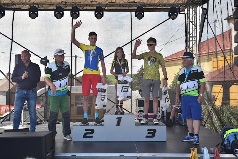 Vyhlášení vítězů a druhé místo pro Jarouše