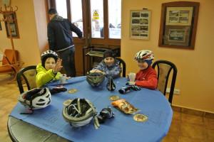 Naši bikeři Jarda a Tom