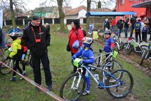 Jaryn, Renča, Tom a Jarda před závodem