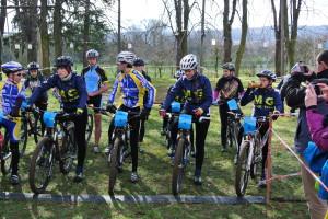 Libuš poprvé za MG bike team