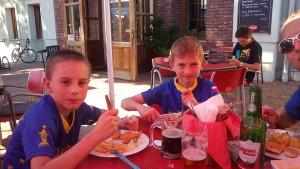 oběd Pod Hradem